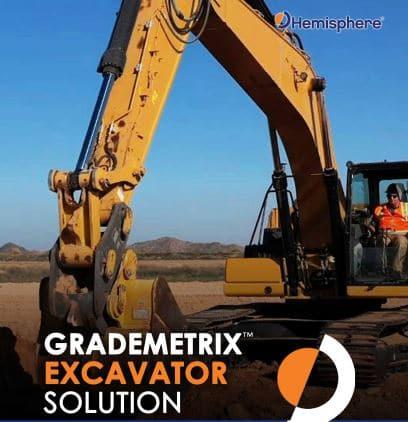 Grademetrix Excavator Solution